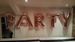 Rose Gold Large Foil Letter Balloons