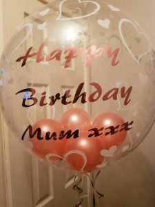 Personalised Balloon Decoration