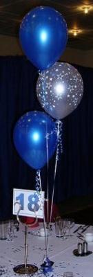 3 Balloon Tiered Table Decoration - £6.25