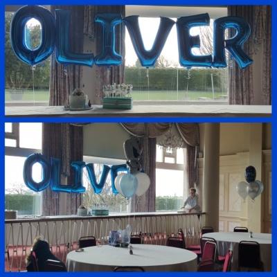Oliver Large Foil Letters