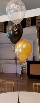 60th Balloon Decoration