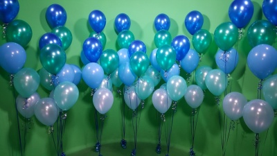 Blue  Balloon Decorations