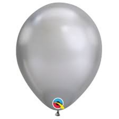 Chrome Metallic Latex Balloons